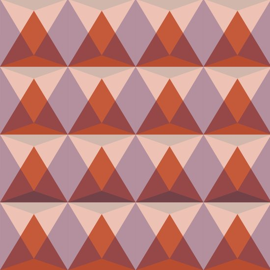 Midcentury Pattern 08 Art Print