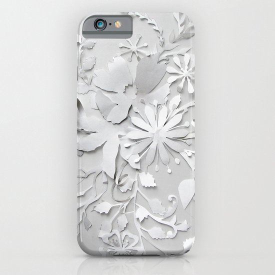 Elegant White iPhone & iPod Case