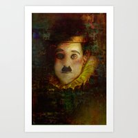 Portrait of a myth Art Print