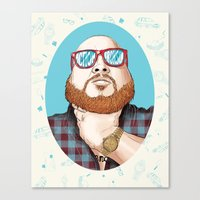 Action Bronson Canvas Print