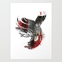 Flying Wind Art Print