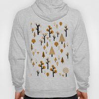 trees in the forest Hoody