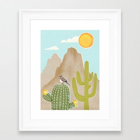 Sonoran Framed Art Print