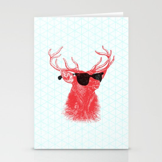 Young Buck. Stationery Card