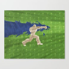 Tea Time (Homage To Dudley of Street Fighter) Canvas Print