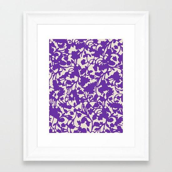 earth 8 Framed Art Print