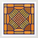 Elote Corn - Voronoi Art Print
