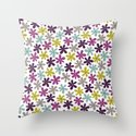 Allium Ditsy Throw Pillow