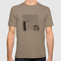 Lost City Mens Fitted Tee Tri-Coffee SMALL