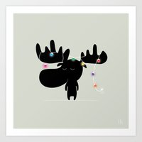 The Happy Christmas Art Print