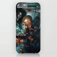 robot iPhone & iPod Cases featuring Robot by Nicolas Villeminot