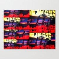 Barstools Canvas Print