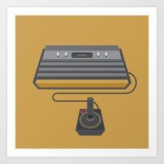 Retro Gaming - Atari Art Print