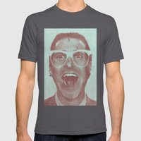 Patrick Bateman - The Hi… Mens Fitted Tee Asphalt SMALL