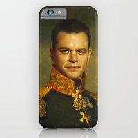 Matt Damon - Replaceface iPhone 6 Slim Case