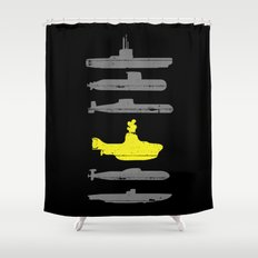 Know Your Submarines Shower Curtain
