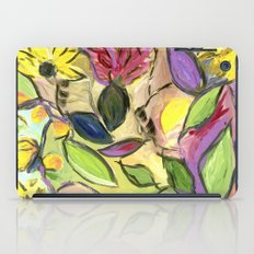 Flower Swirls iPad Case