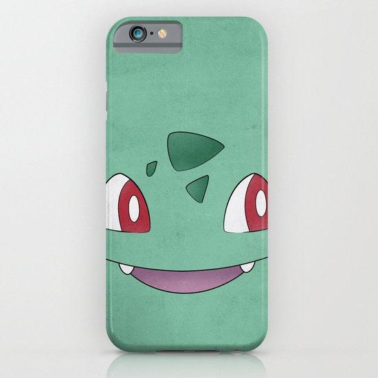 Bulbasaur Minimalism Pokemon Poster iPhone & iPod Case