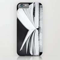 iPhone & iPod Case featuring An Open Book by SilverSatellite