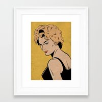 I'm Not The Kind of Woman You Thought I Was... Framed Art Print