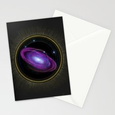 Space Travel - Painting Stationery Cards