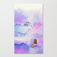 I'll See You When I Fall… Canvas Print