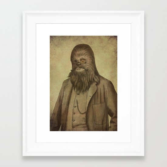 Chancellor Chewman  Framed Art Print