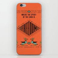 9/52: 2 Corinthians 3:17  iPhone & iPod Skin