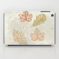Leaves In Autumn iPad Case
