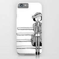 iPhone & iPod Case featuring vintage vixen by kate gabrielle