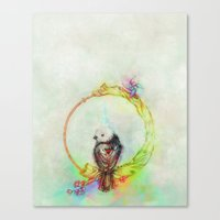 Ride the Cycle Canvas Print