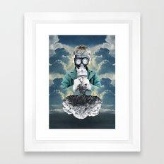 Breathe Easy Framed Art Print