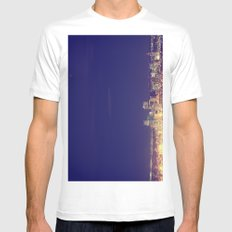 Denver Mens Fitted Tee White SMALL