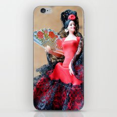Flamenco doll  iPhone & iPod Skin