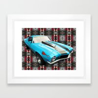 Mustang Framed Art Print