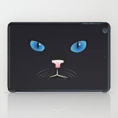 Little black cat iPad Case