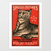 Special Matches - Japan Art Print