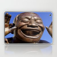 Yue Minjun Laughing men 1 Laptop & iPad Skin