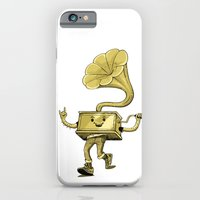 iPhone & iPod Case featuring gramaphone by yamini