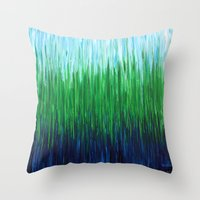 :: Sea Grass :: Throw Pillow