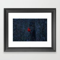 Color in the Dreary Framed Art Print