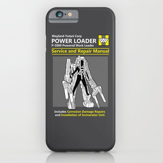 Power Loader Service and Repair Manual iPhone & iPod Case