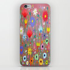 Flowers-Abstracts  iPhone & iPod Skin