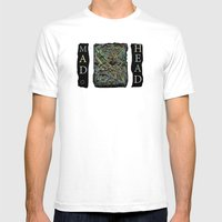 Mad Head Mens Fitted Tee White SMALL