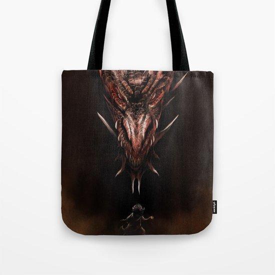 Smaug And The Thief Tote Bag