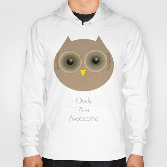 Owls Are Awesome Hoody