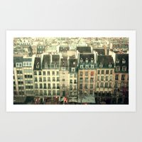 Paris - The Marais Art Print