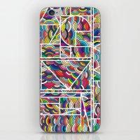 Kaku Technicolor iPhone & iPod Skin