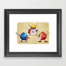 SEX BOB-OMB - COLOR Framed Art Print