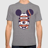 Defragmented!  Mens Fitted Tee Tri-Grey SMALL